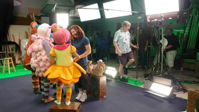 On the Mother Goose Club set