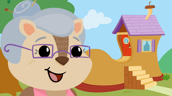 Old Woman Who Lived In A Shoe Cartoon Nursery Rhymes Mother
