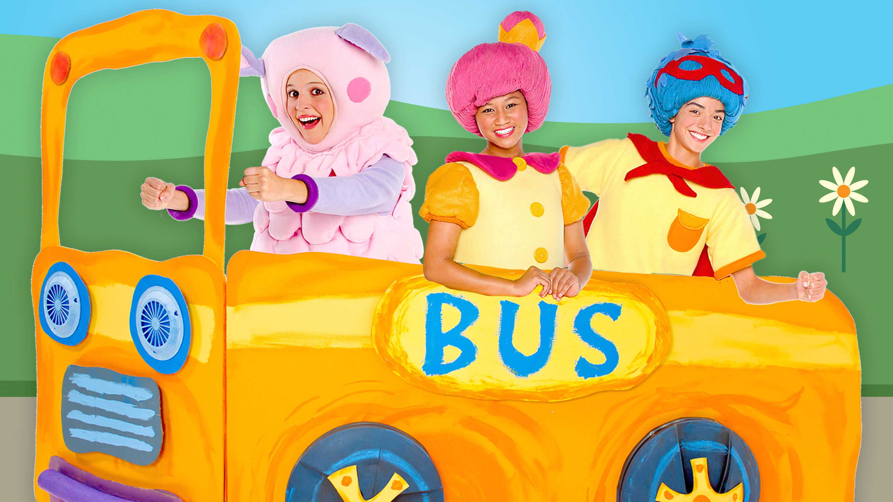 The Wheels On The Bus Nursery Rhyme Mother Goose Club