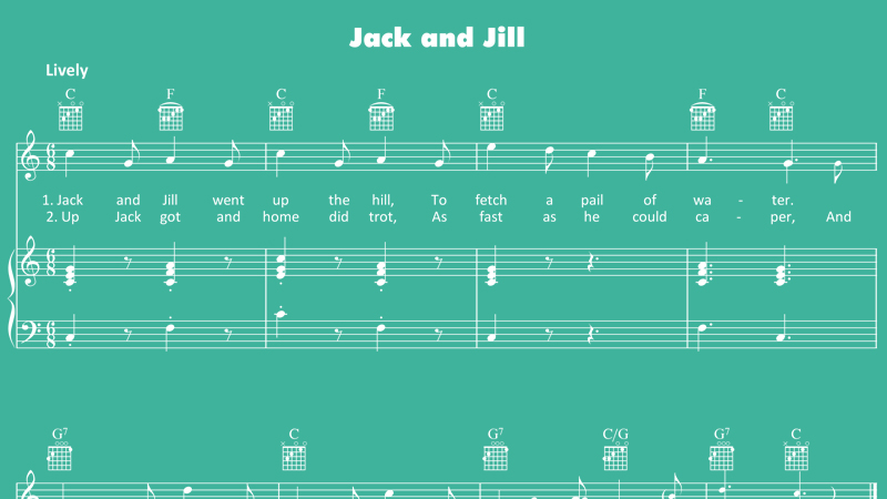 Image for Jack and Jill – Sheet Music