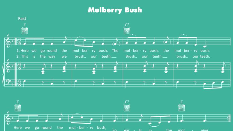 Image for Mulberry Bush – Sheet Music