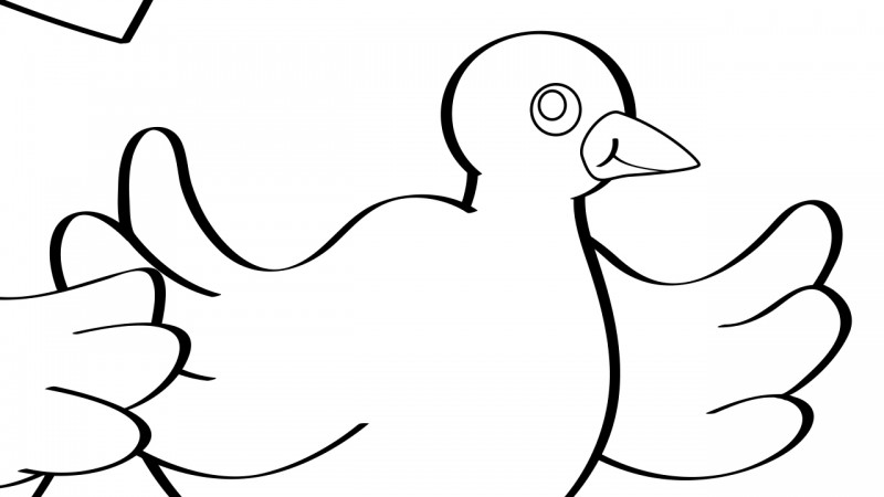 Image for Birds of a Feather – Coloring Page