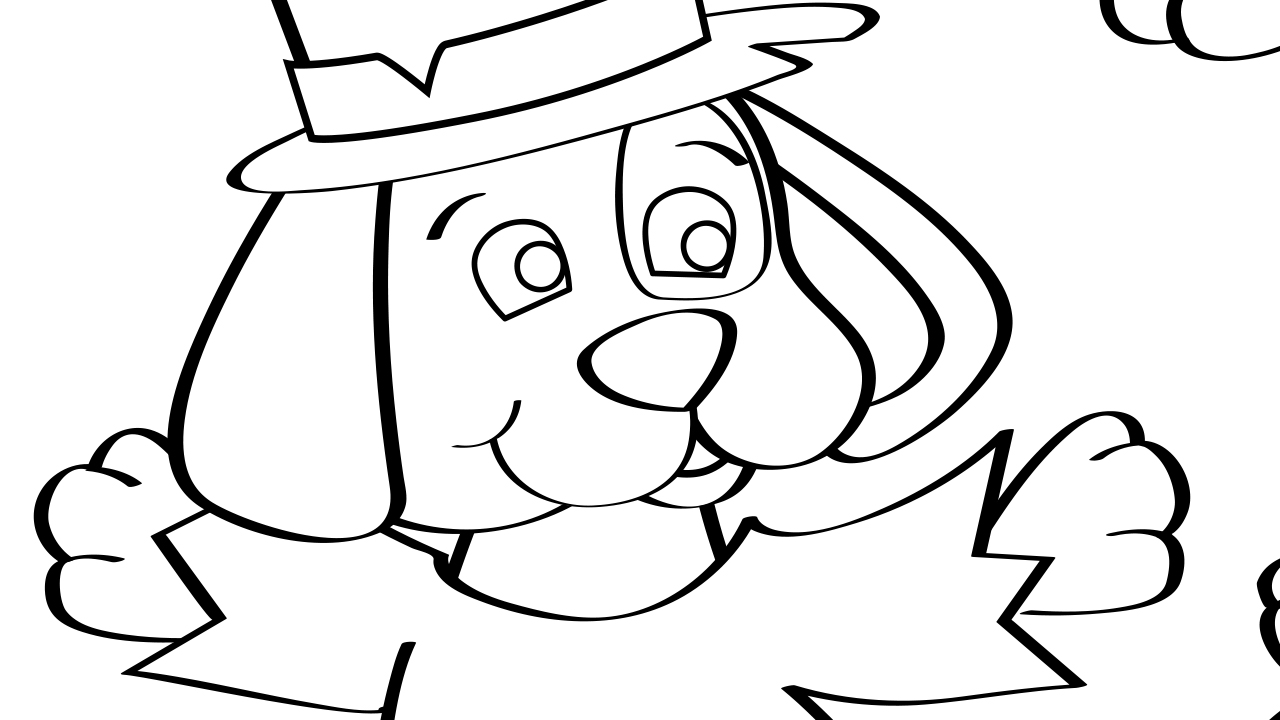 Hark Hark Coloring Page Mother Goose Club