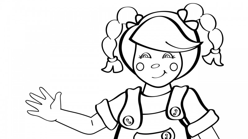 Image For Mary Had A Little Lamb Coloring Page