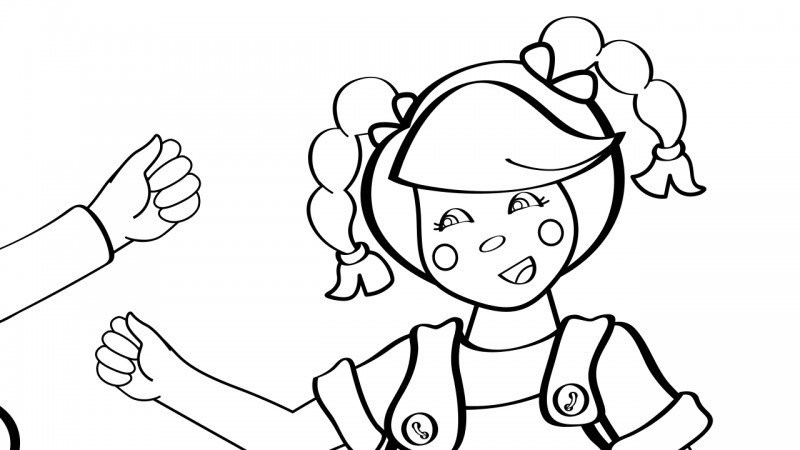 Image for One Potato, Two Potato – Coloring Page