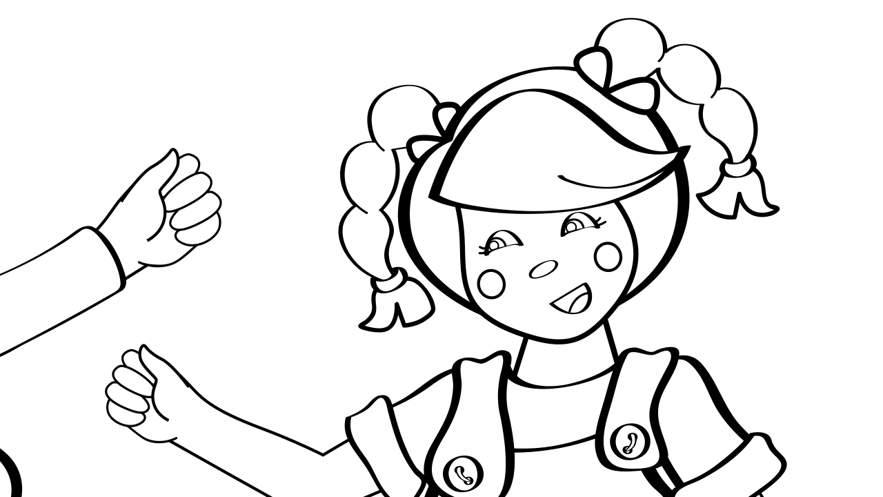 one potato two potato coloring page mother goose club