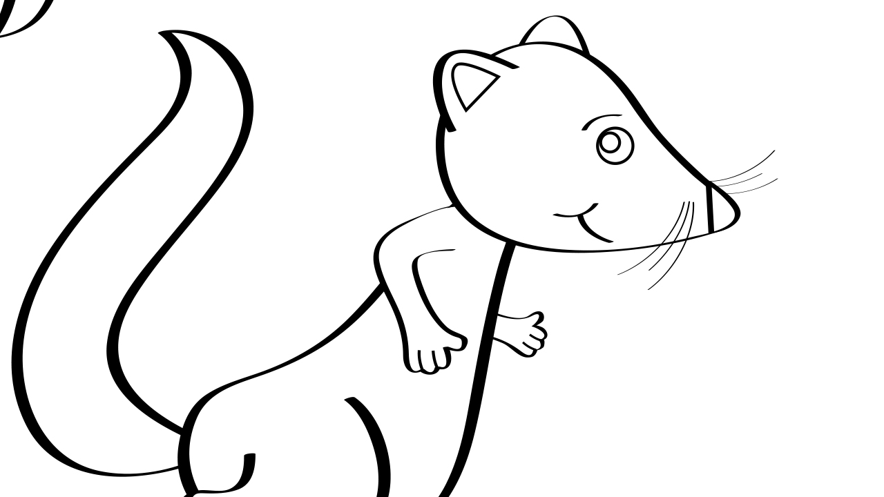 Pop Goes the Weasel Coloring Page Mother Goose Club
