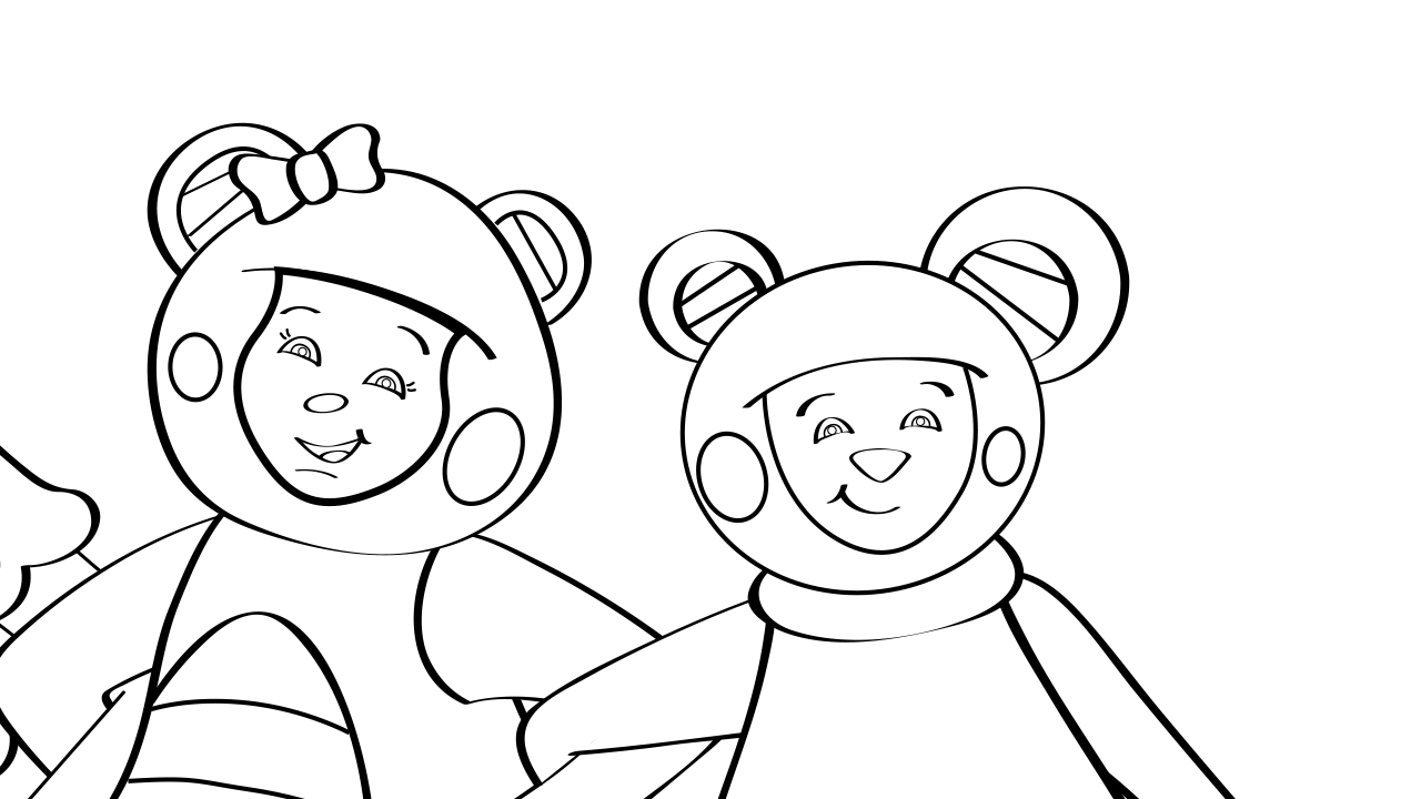 Skip to My Lou Coloring Page