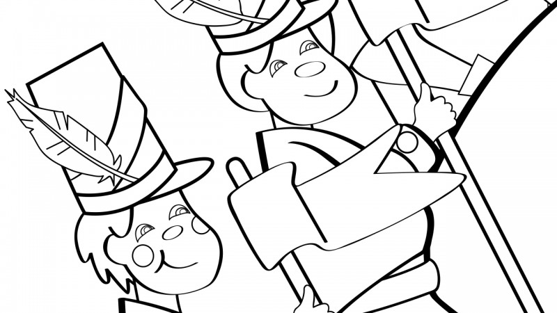 image for the grand old duke of york coloring page - York Coloring Pages Printable
