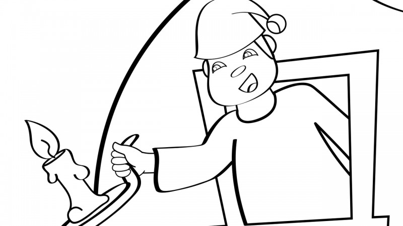 man moon coloring pages - photo#7