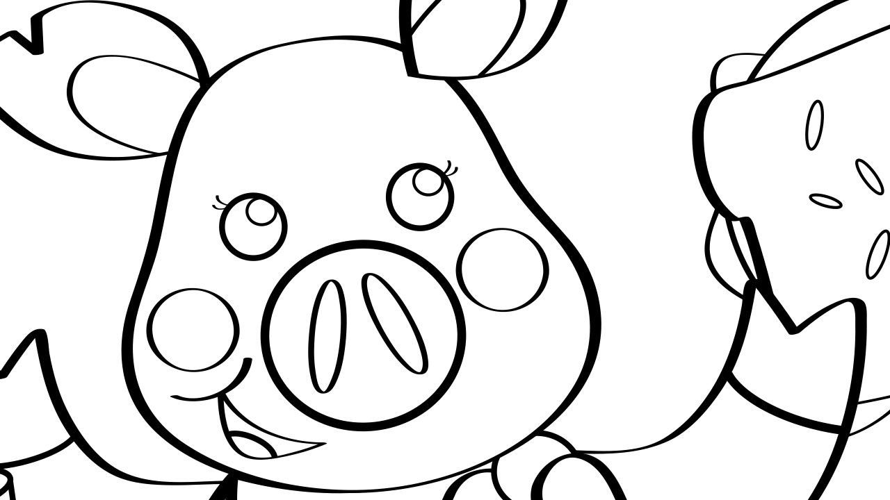 this little piggy coloring page mother goose club