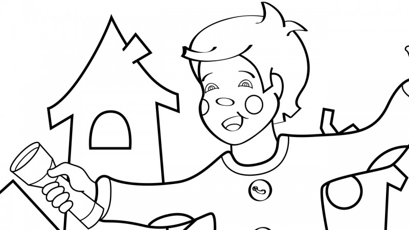 Image for Wee Willie Winkie – Coloring Page