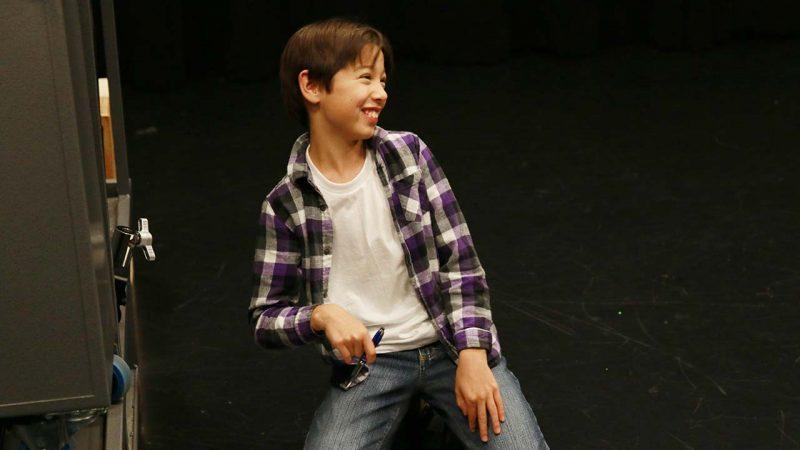 Arthur dancing.