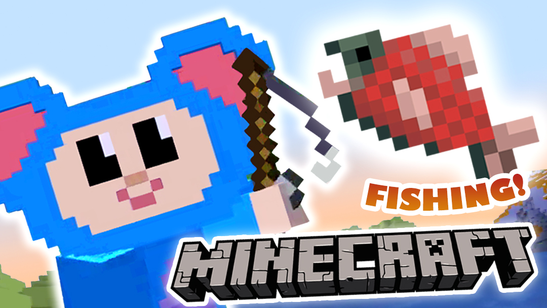 Eep Goes Fishing Minecraft Videos Mother Goose Club