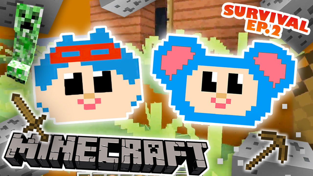 Jack And Eep Survival Ep 2 Minecraft Videos Mother