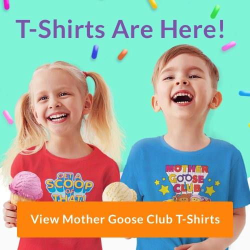 Mother Goose Club t-shirts