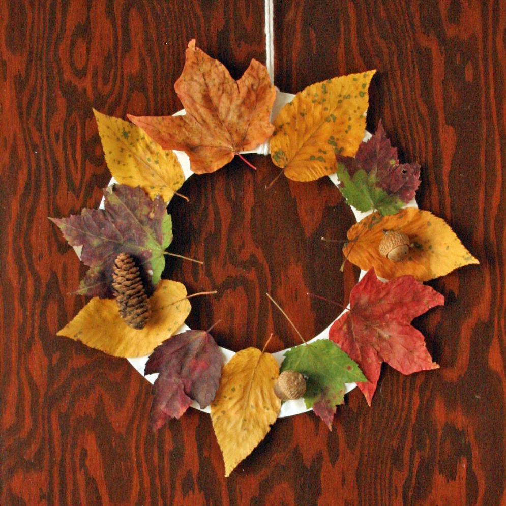 Fall wreath craft final