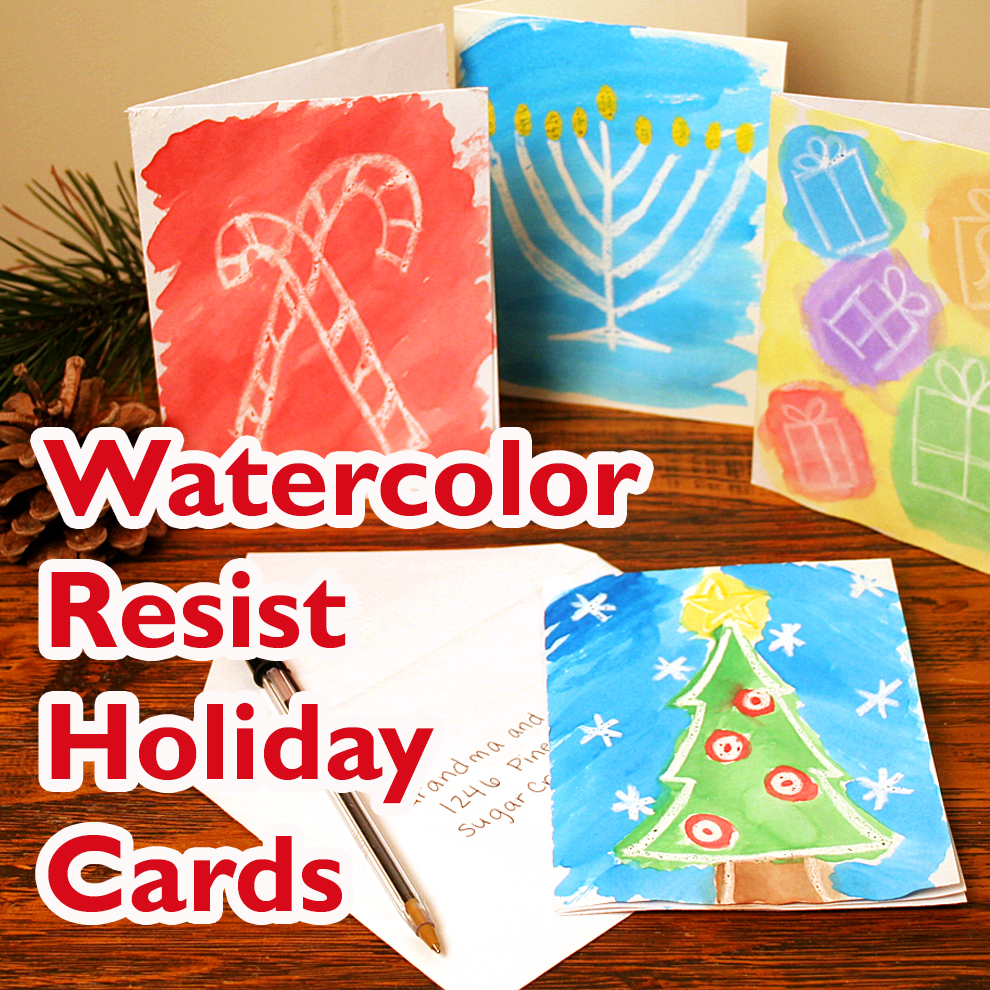 Watercolor holiday cards craft final