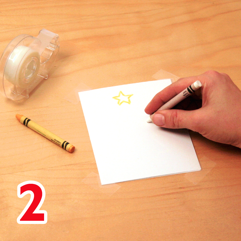 Watercolor holiday cards craft step 2