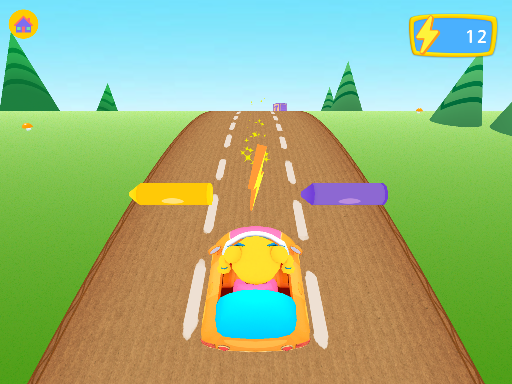 App Mary Driving game - Mother Goose Club