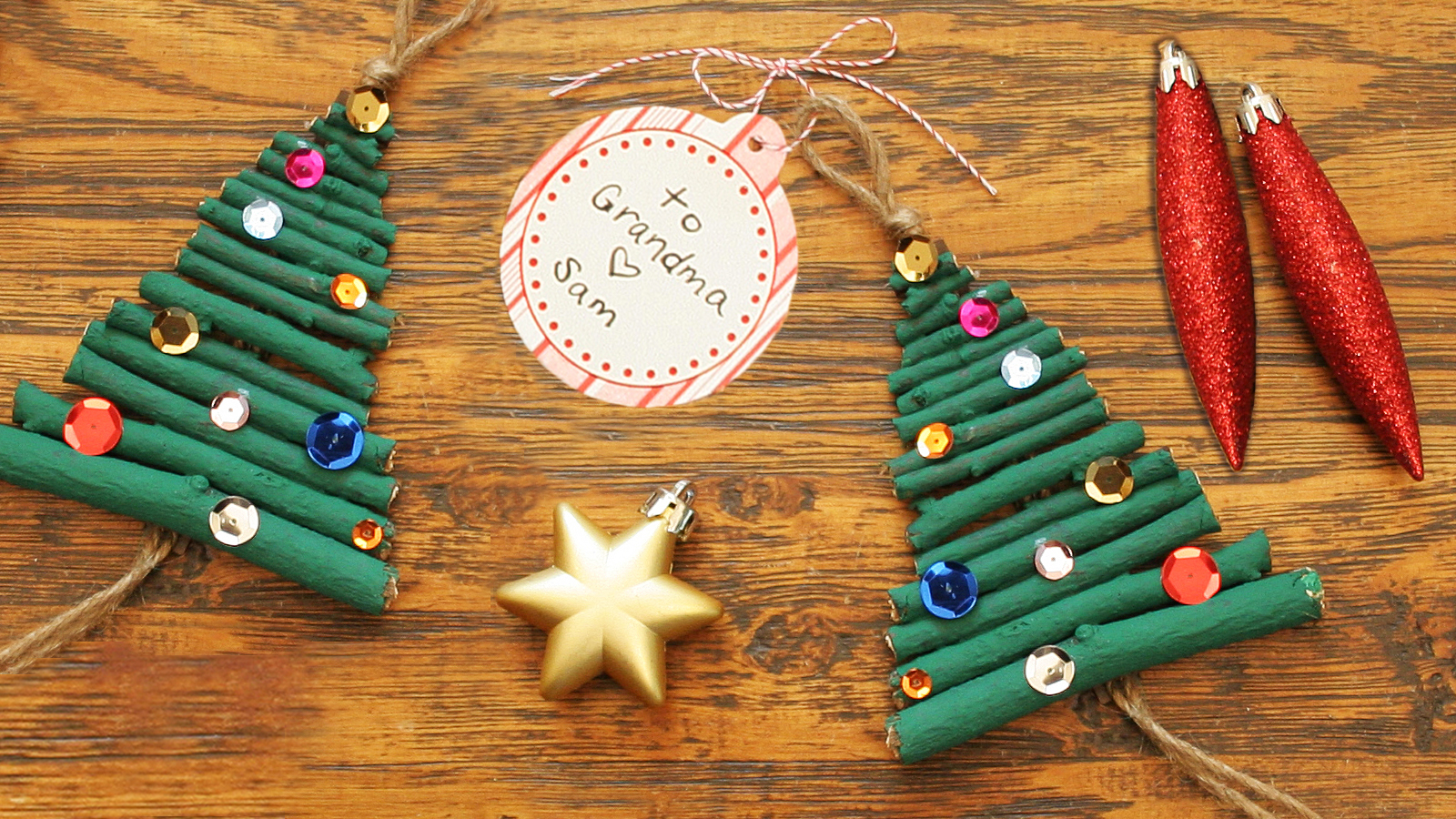 Christmas Tree Ornament Craft