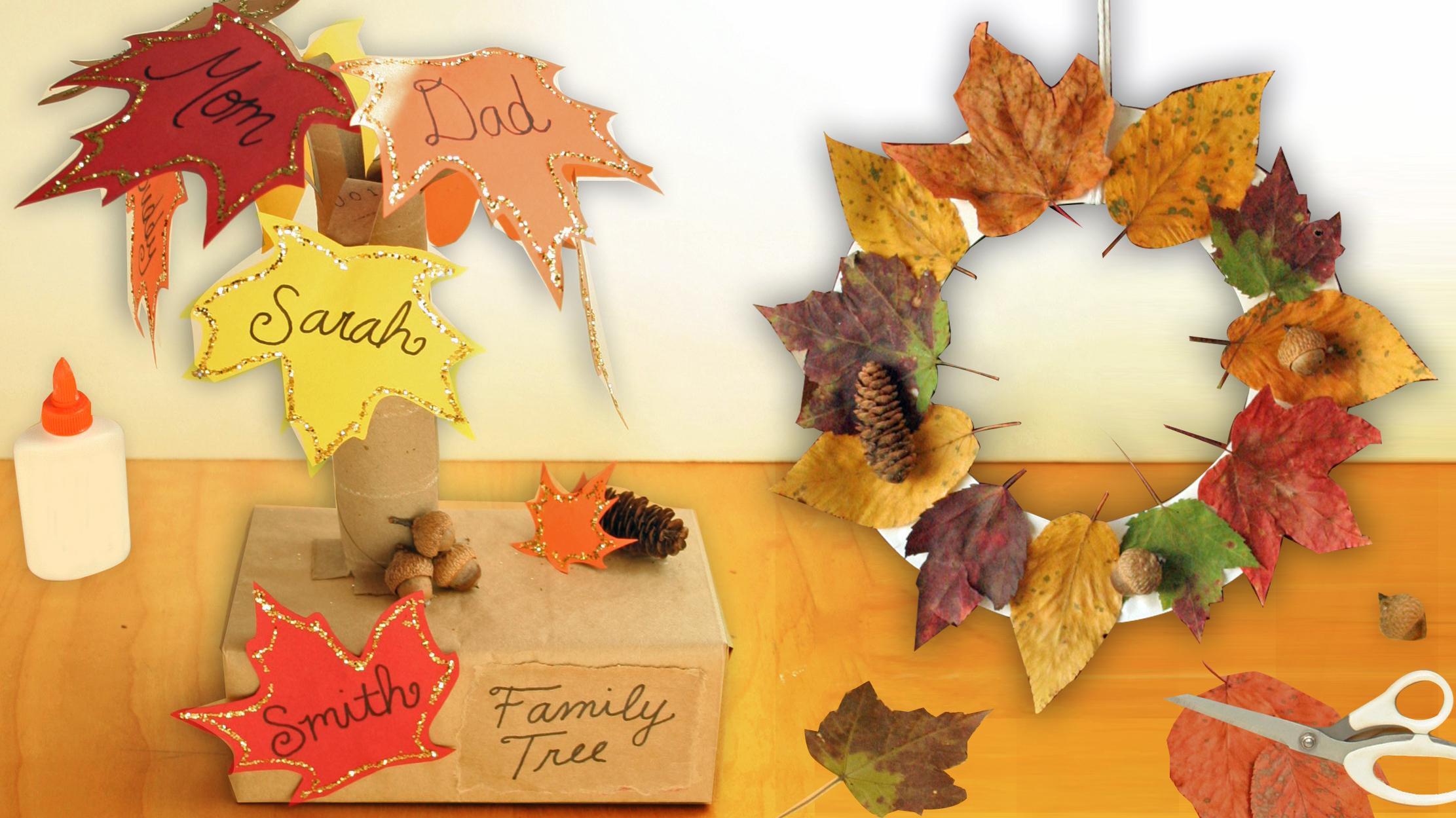 DIY fall crafts