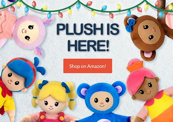 View Mother Goose Club plush toys on Amazon