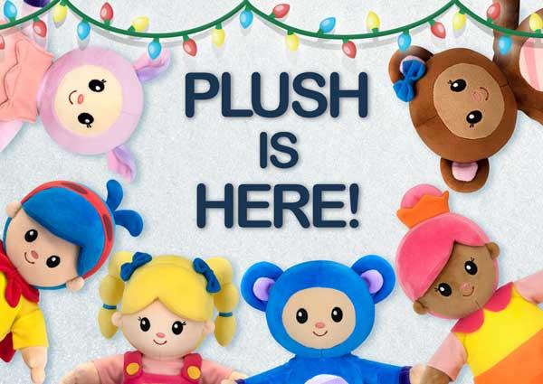 View Mother Goose Club plush toys on Amazon