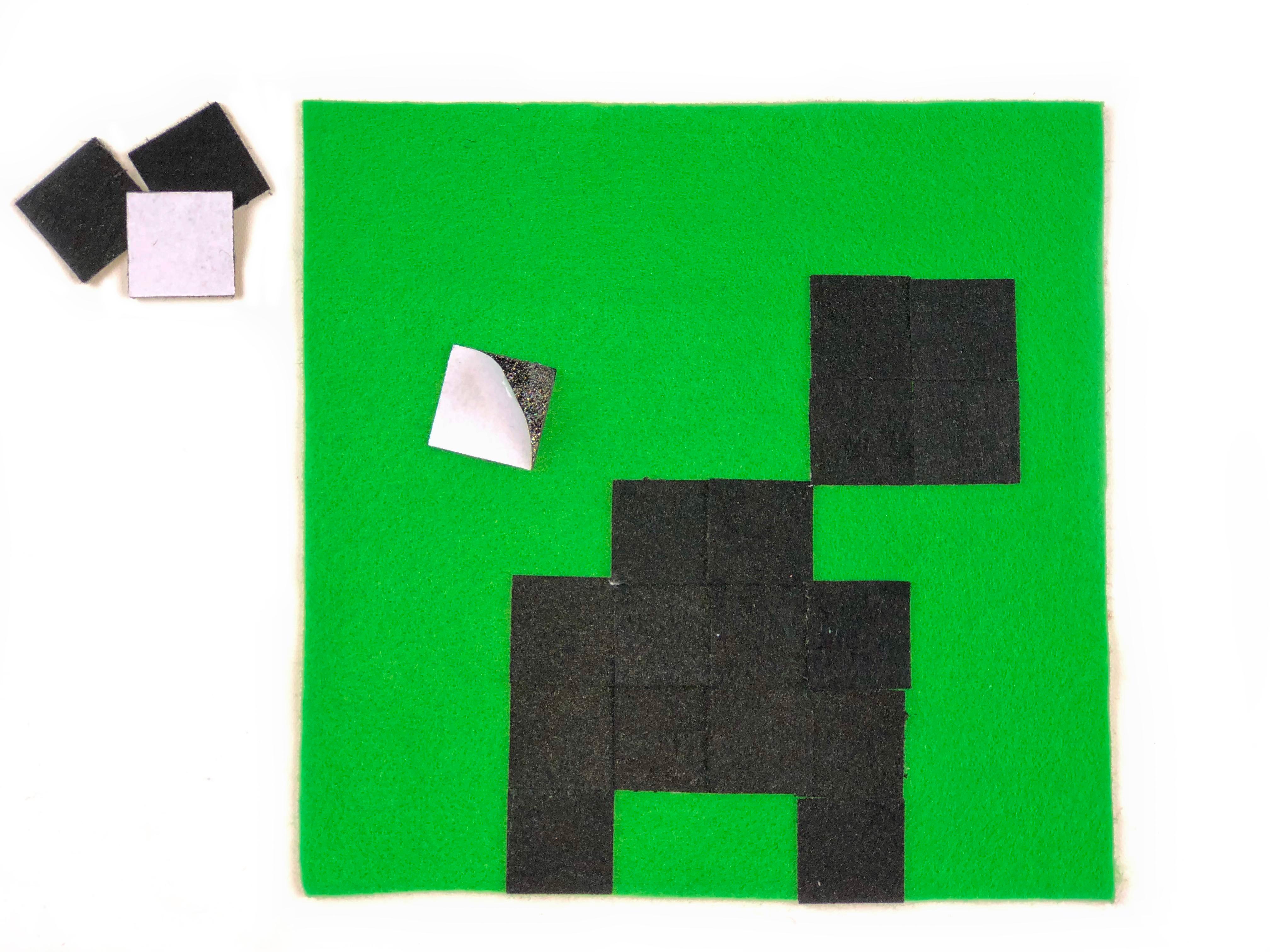 Minecraft Cap Craft step 1