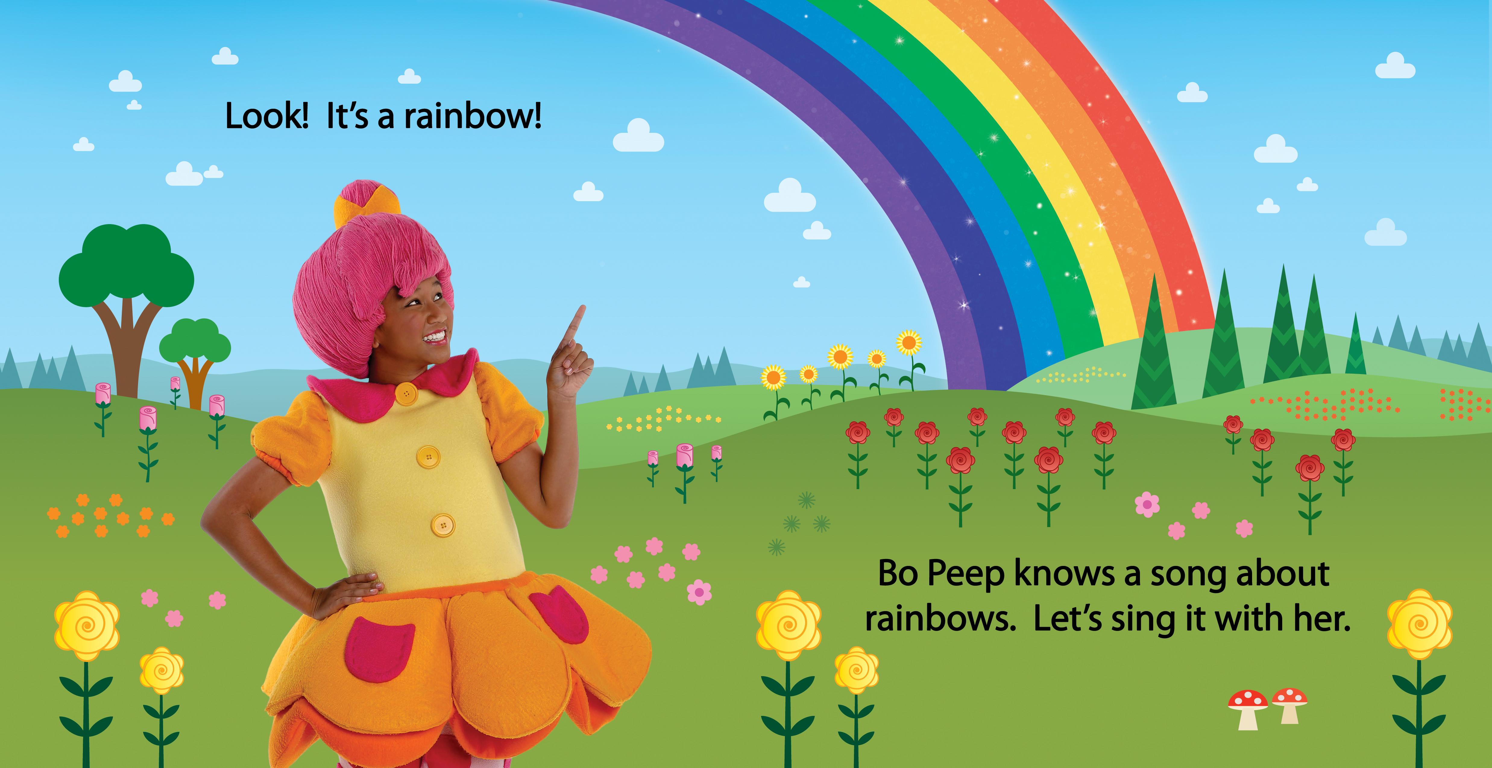 Rainbow, Rainbow spread 4