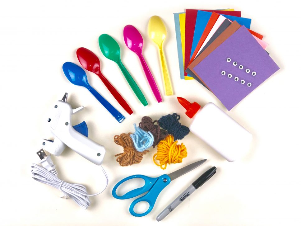 Spoon Family Craft materials