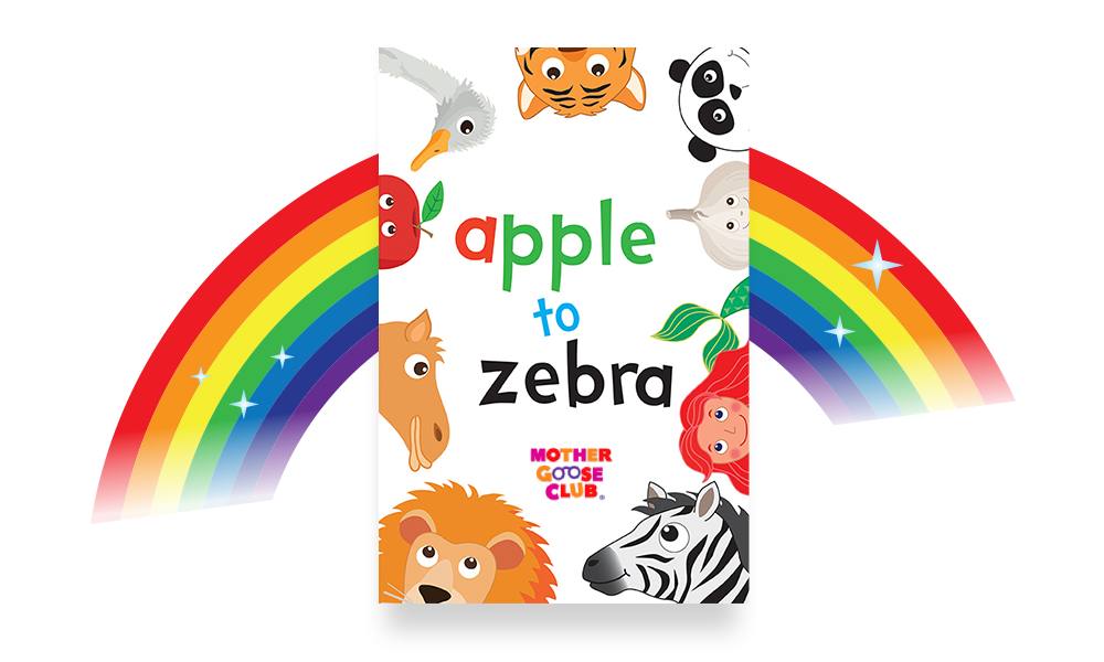 apple to zebra alphabet book
