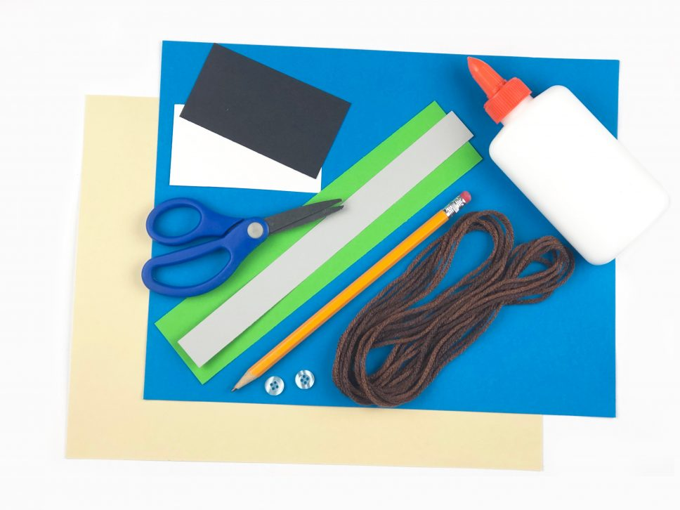 Father's Day Hand Tracing Craft materials