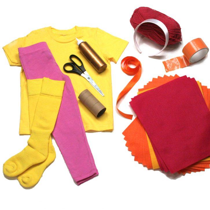 Bo Peep costume materials