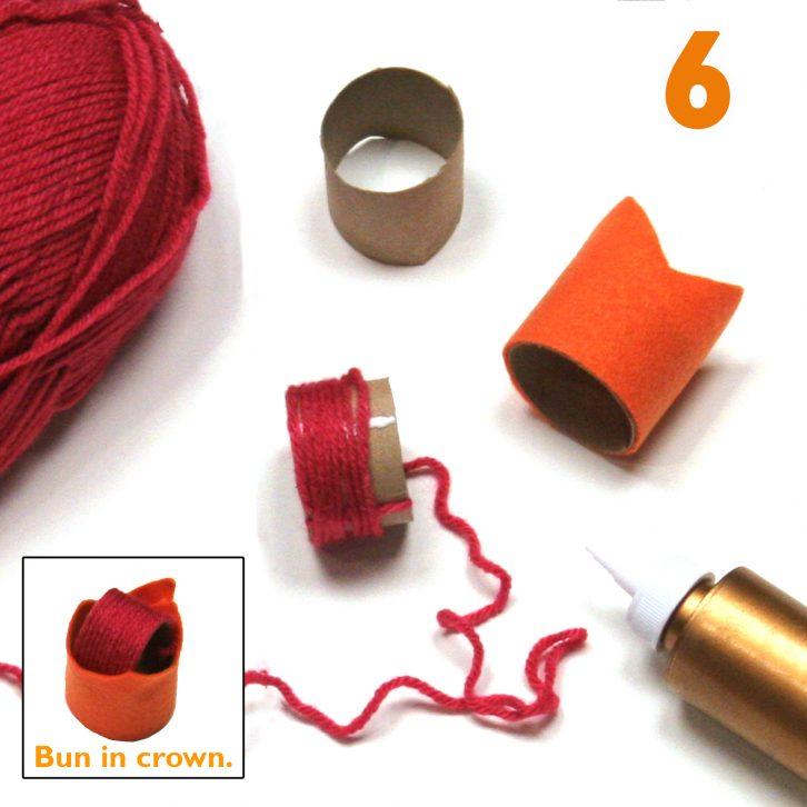 Bo Peep costume step 6