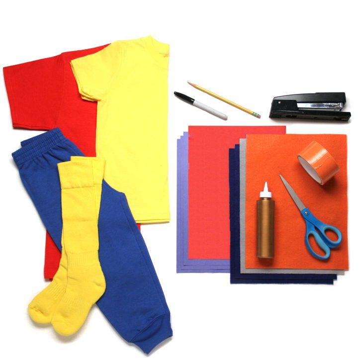 Jack costume materials