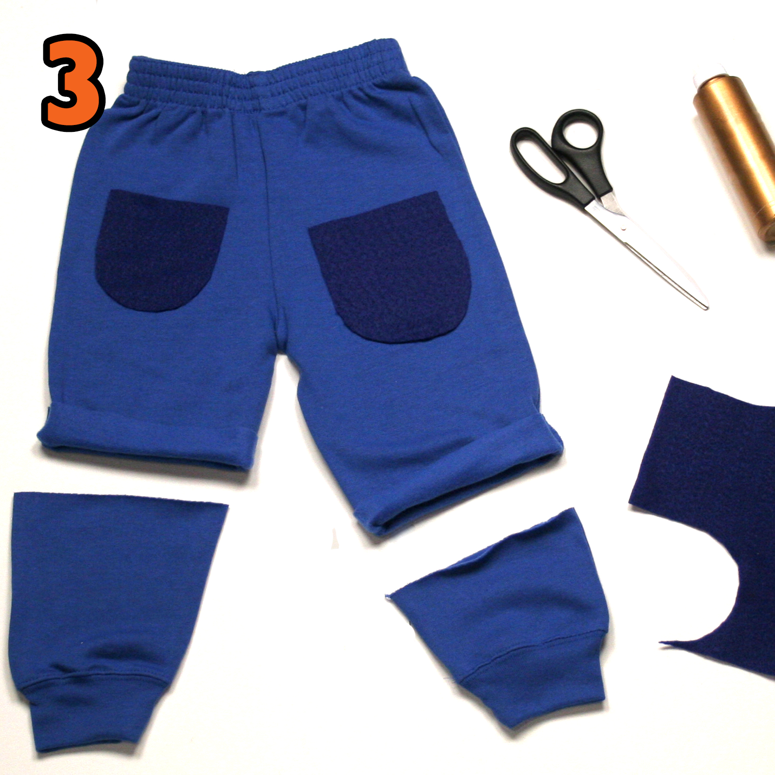 Jack costume step 3