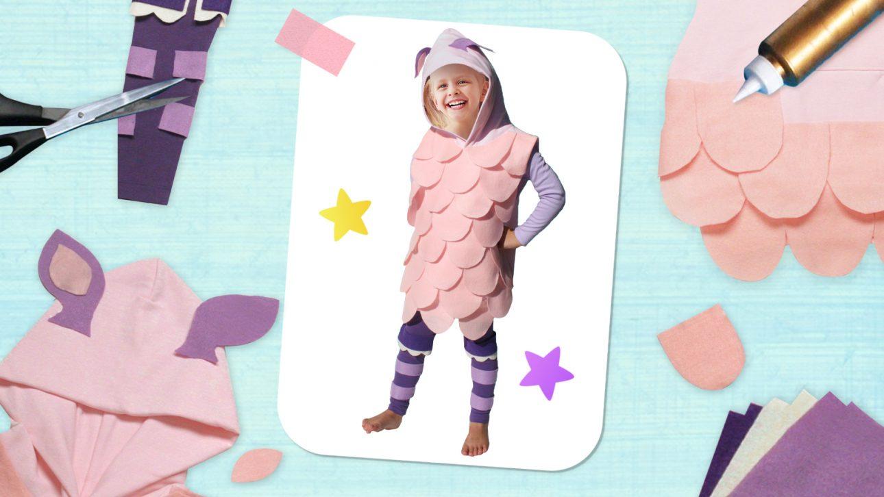Make Your Own Baa Baa Sheep Costume