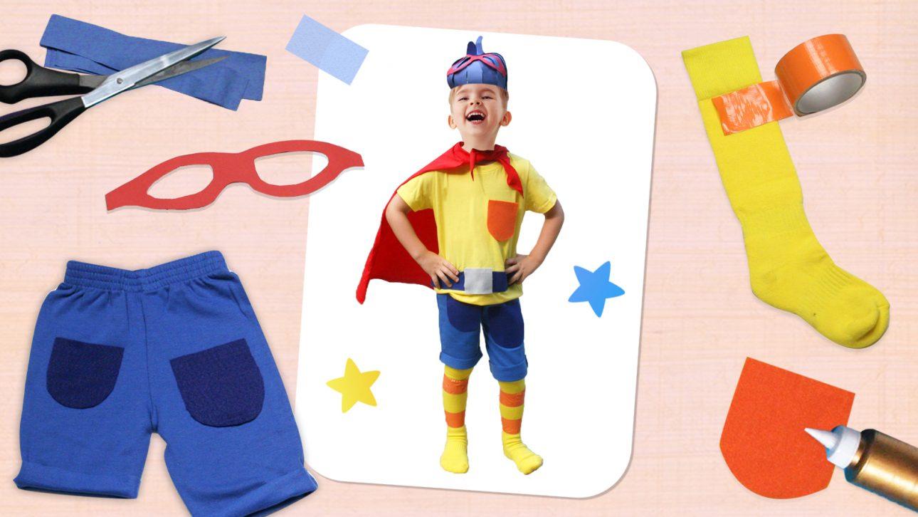 Make Your Own Jack B. Nimble Costume