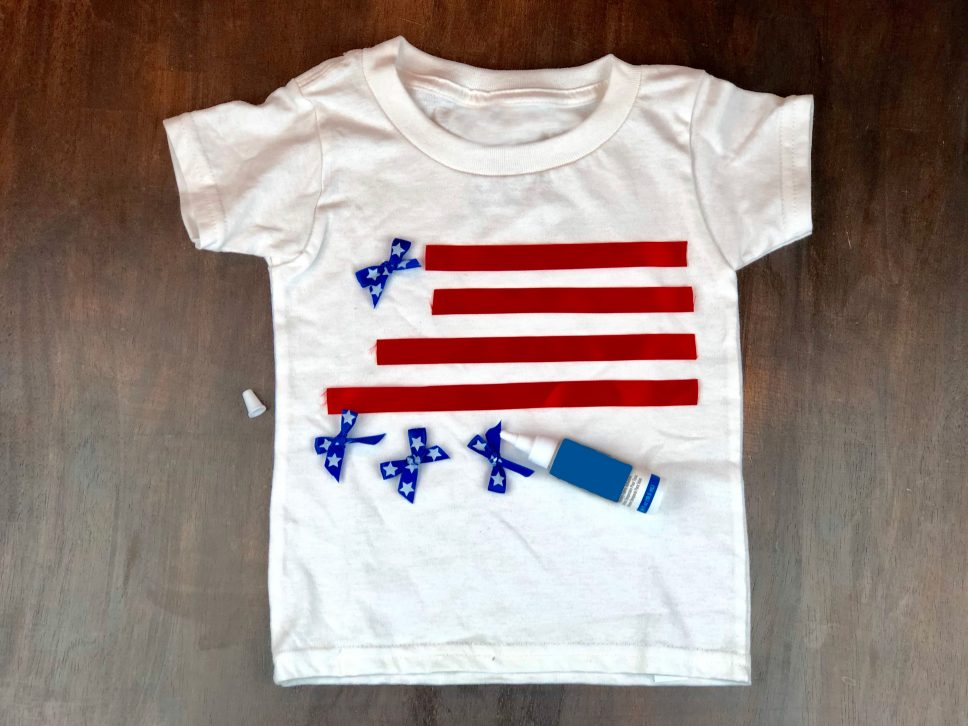 4th of July Craft step 2