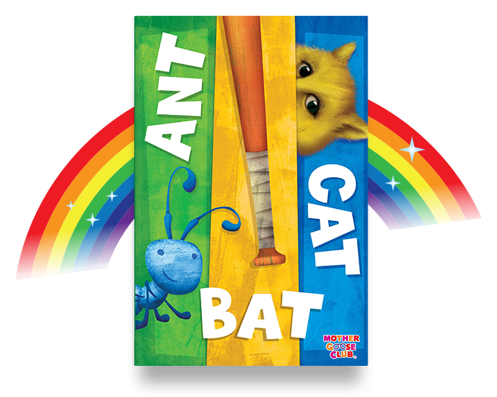 ANT BAT CAT alphabet book