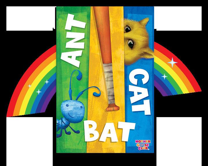 ANT BAT CAT alphabet book