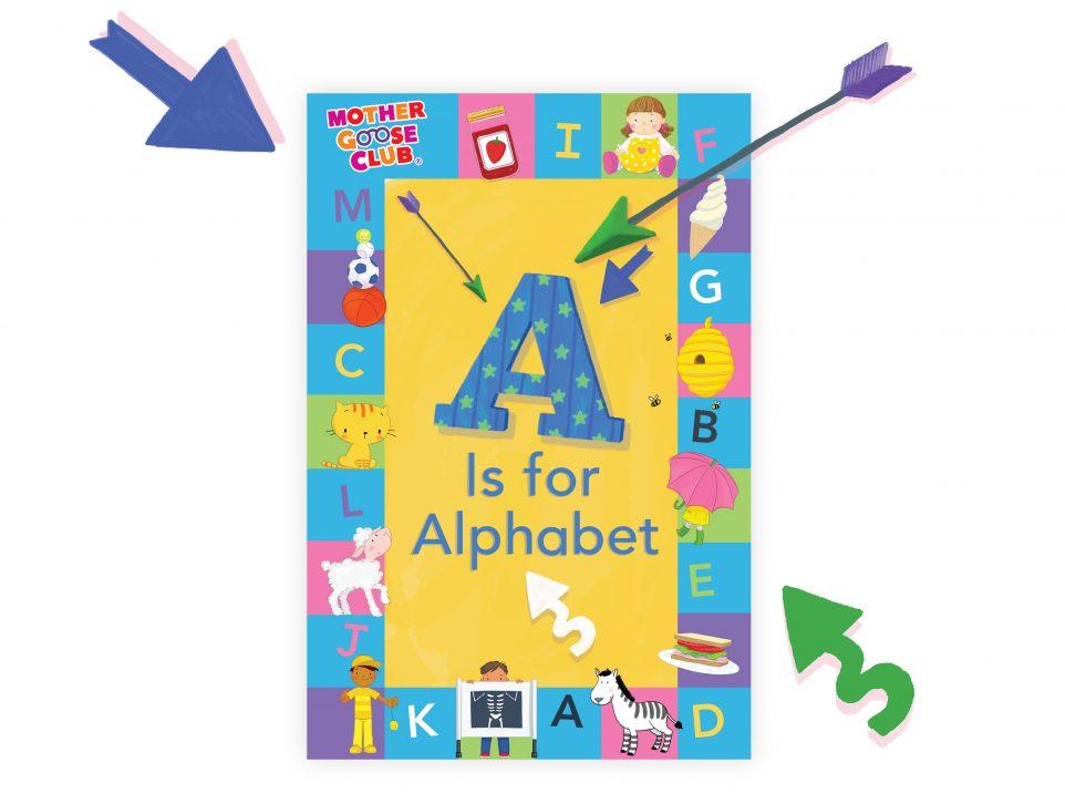 A Is for Alphabet alphabet book