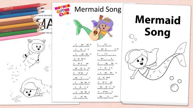 Mermaid Song Activity Downloads