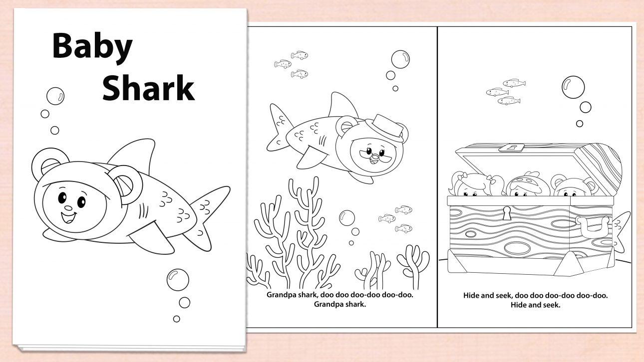 Baby Shark Activity Downloads