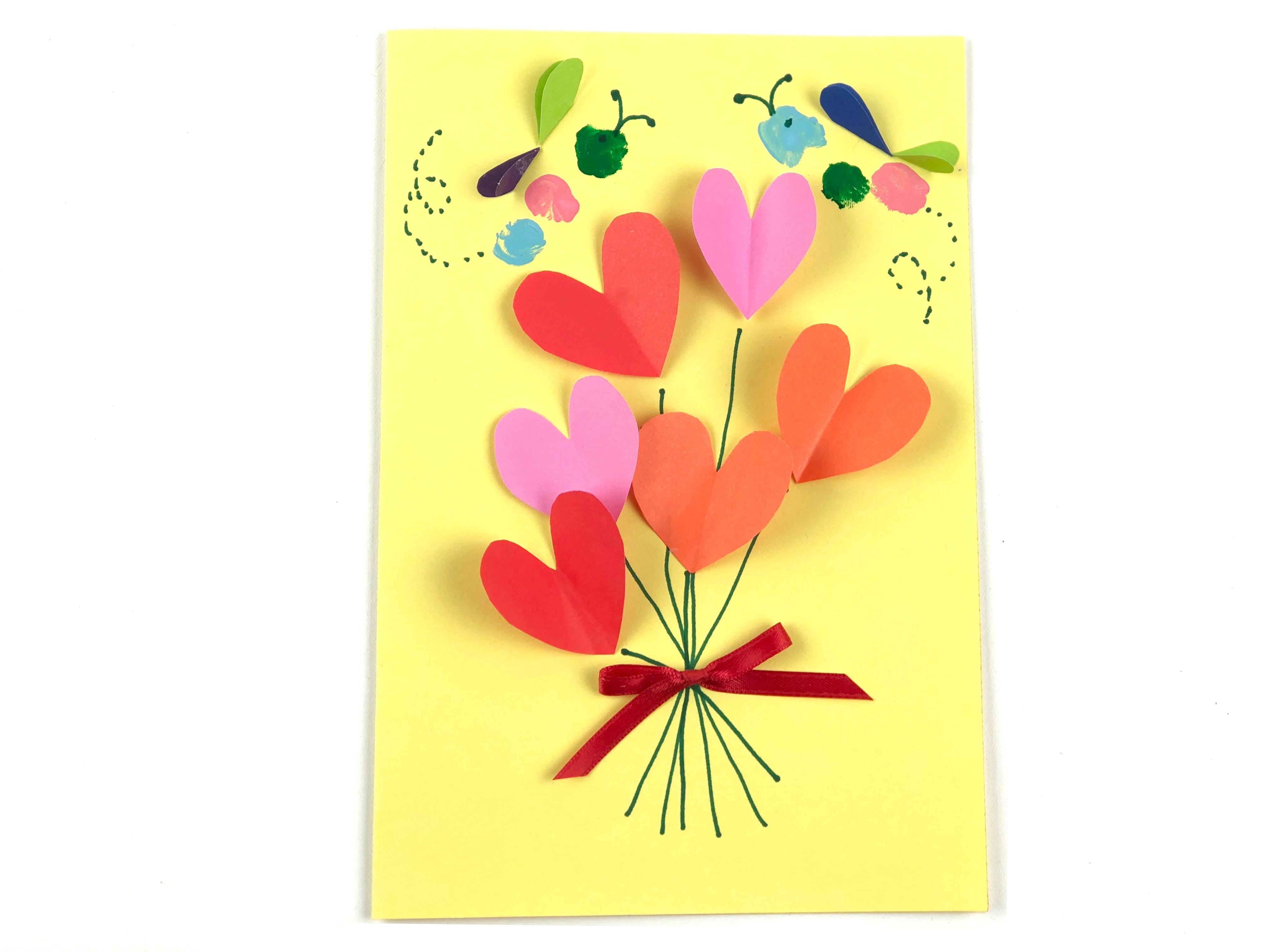 Valentine's Day Card Craft step 3