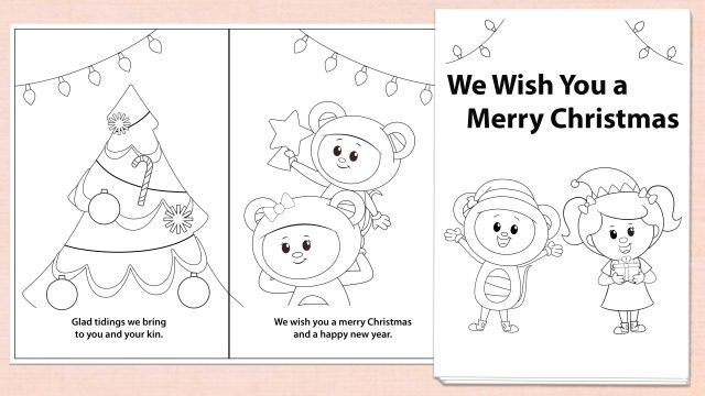 We Wish You a Merry Christmas Activity Downloads